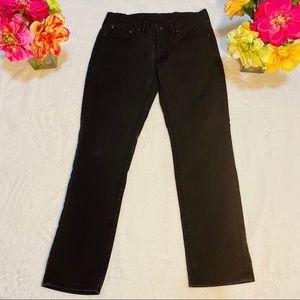 Levi's dark gray denim jeans